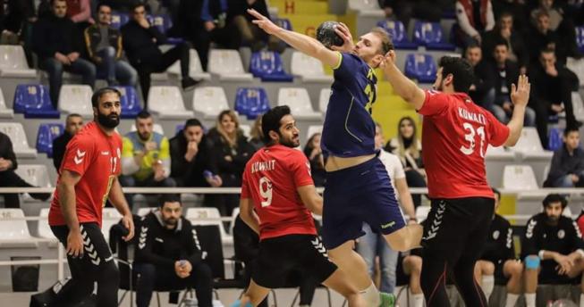 Në foto, moment nga ndeshja miqësore e Kosovës me Kuvajtin
