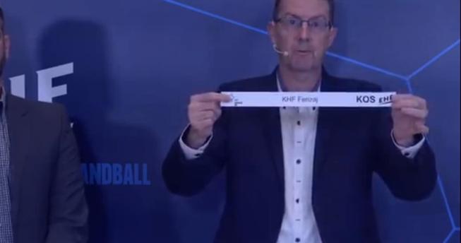 shorti duke u hedhur ne zyret e EHF